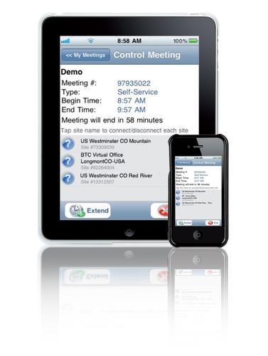 nouvelle application de bt pour gerer des appels de videoconference