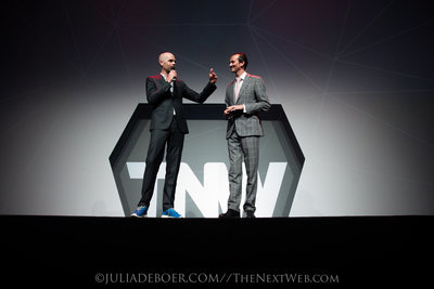 Co-founders of TNW: Patrick de Laive and Boris Veldhuijzen van Zanten