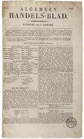 36941 voorpagina algemeen handelsblad 5 januari 1828 medium 1365645216