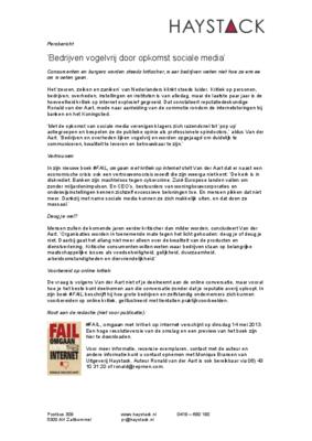 19078 1367939400 persbericht  fail uitgeverij medium