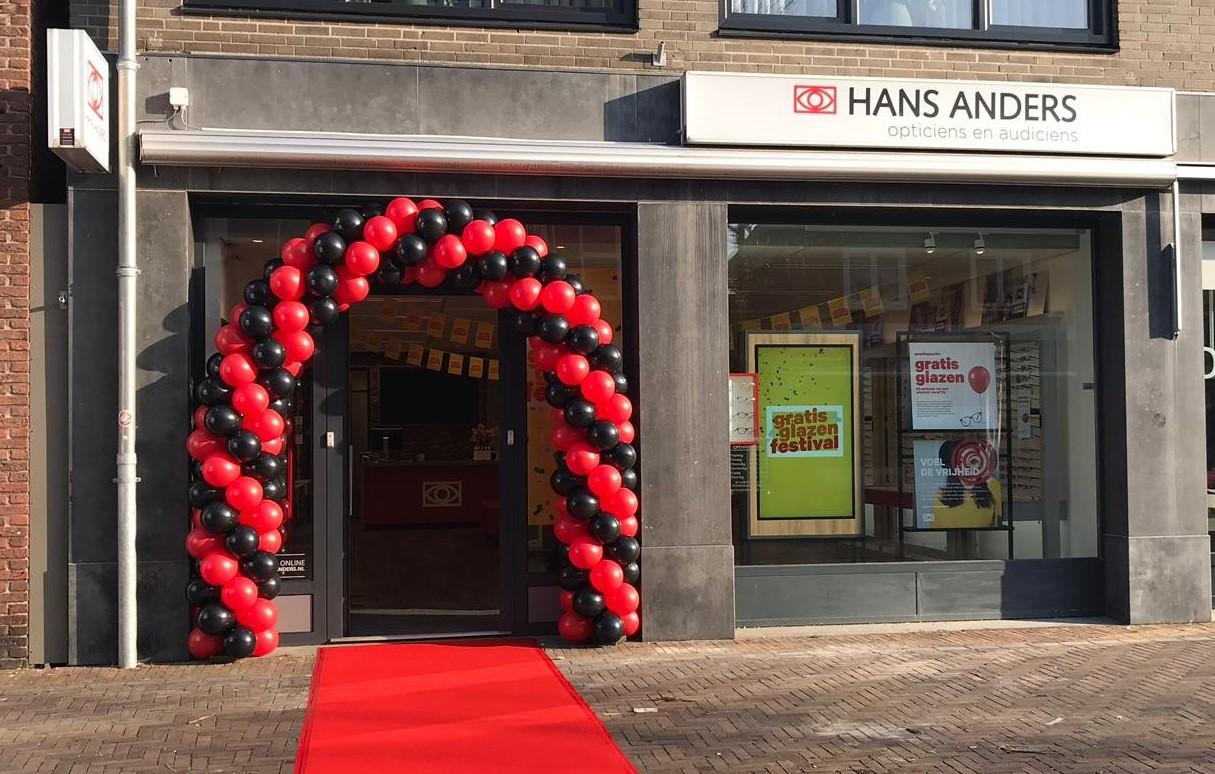 a7dcc5dbd41197 Optiekketen Hans Anders verbouwt winkel in Best - Hans Anders (bericht)