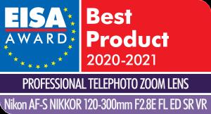 361425 eisa award nikon af s nikkor 120 300mm f2 2bf081 original 1597414773