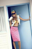 83253 denim gilet 15euro  bandeau bikini 5euro  lace pencil skirt 11euro  trucker hat 3euro medium 1365655139