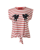 83296 stripe tie front tee 6euro in stores feb medium 1365652753