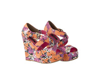 83297 floral print limited edition wedge 23euro in stores early may medium 1365662598