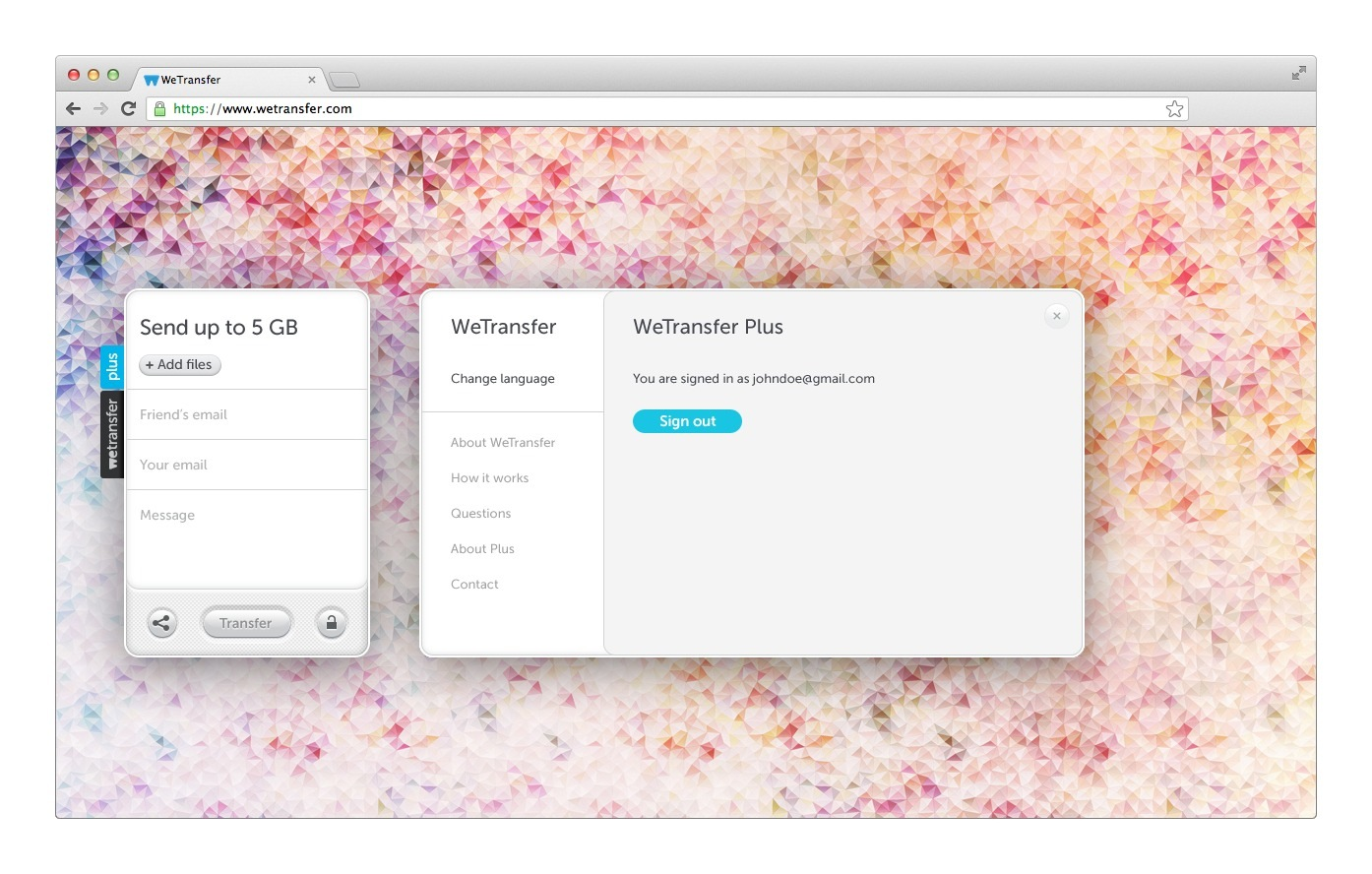 We Transfer: WeTransfer Turns It Up With 10GB Transfers For Plus Users