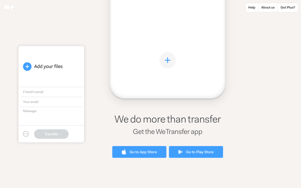 file da wetransfer su android