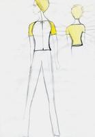 92869 canary space helmet sketch idea for air stewardess 2001 medium 1365654897