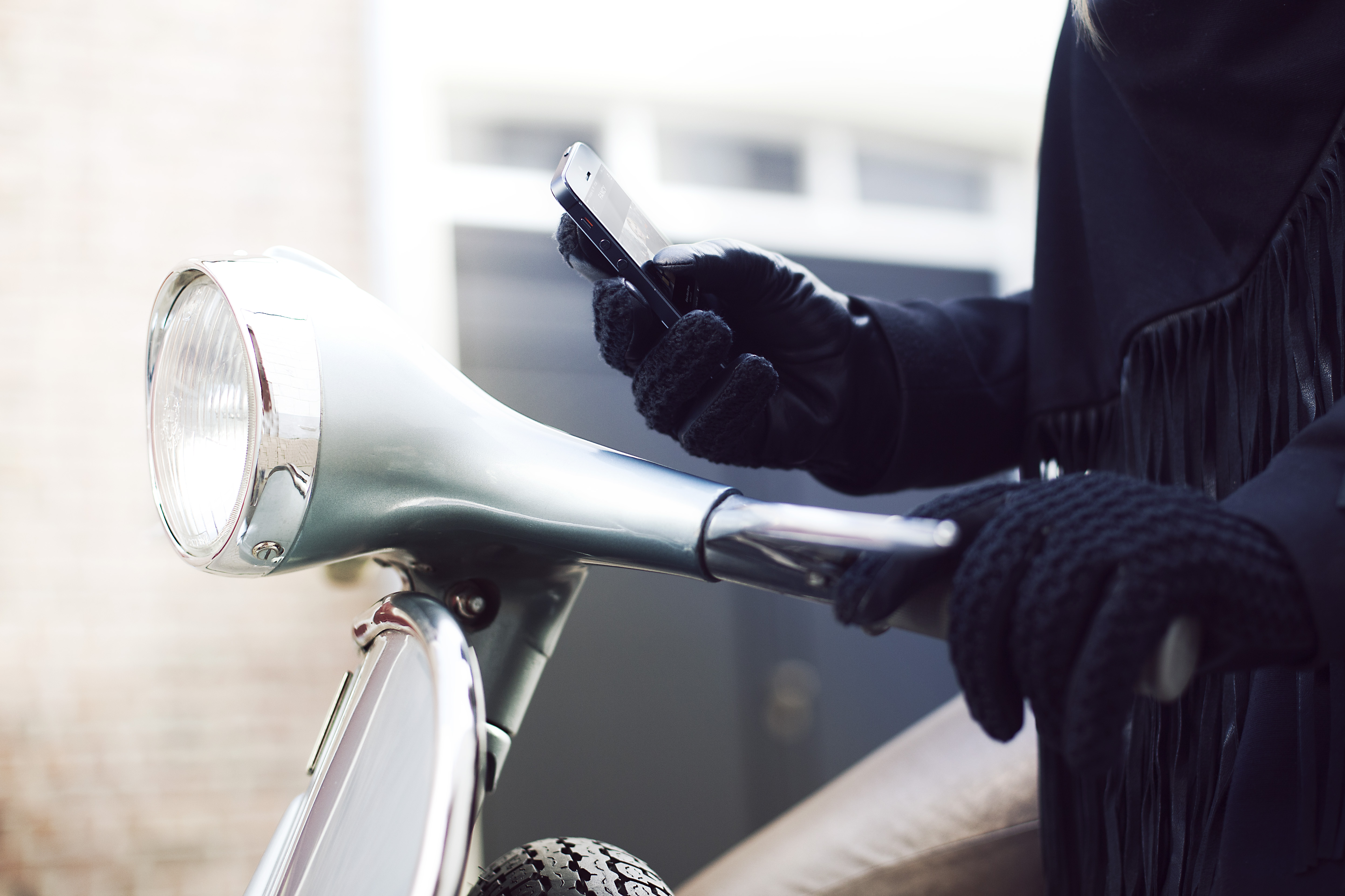 Womens leather smartphone gloves -  Leather Crochet Touchscreen Gloves For Women 001 Medium 1383591523 4985 X 3323