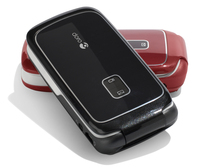 80564 0doro phoneeasy 610 red and black closed lying on table ver01 medium 1365657917