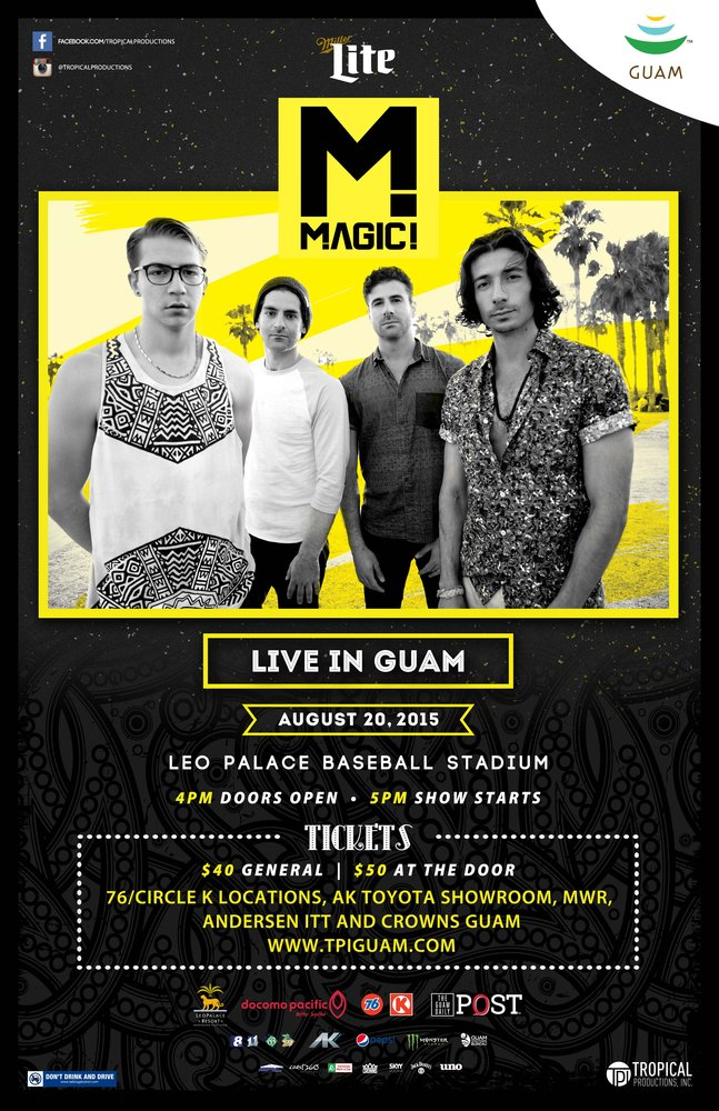 magic live in guam tropical productions inc news