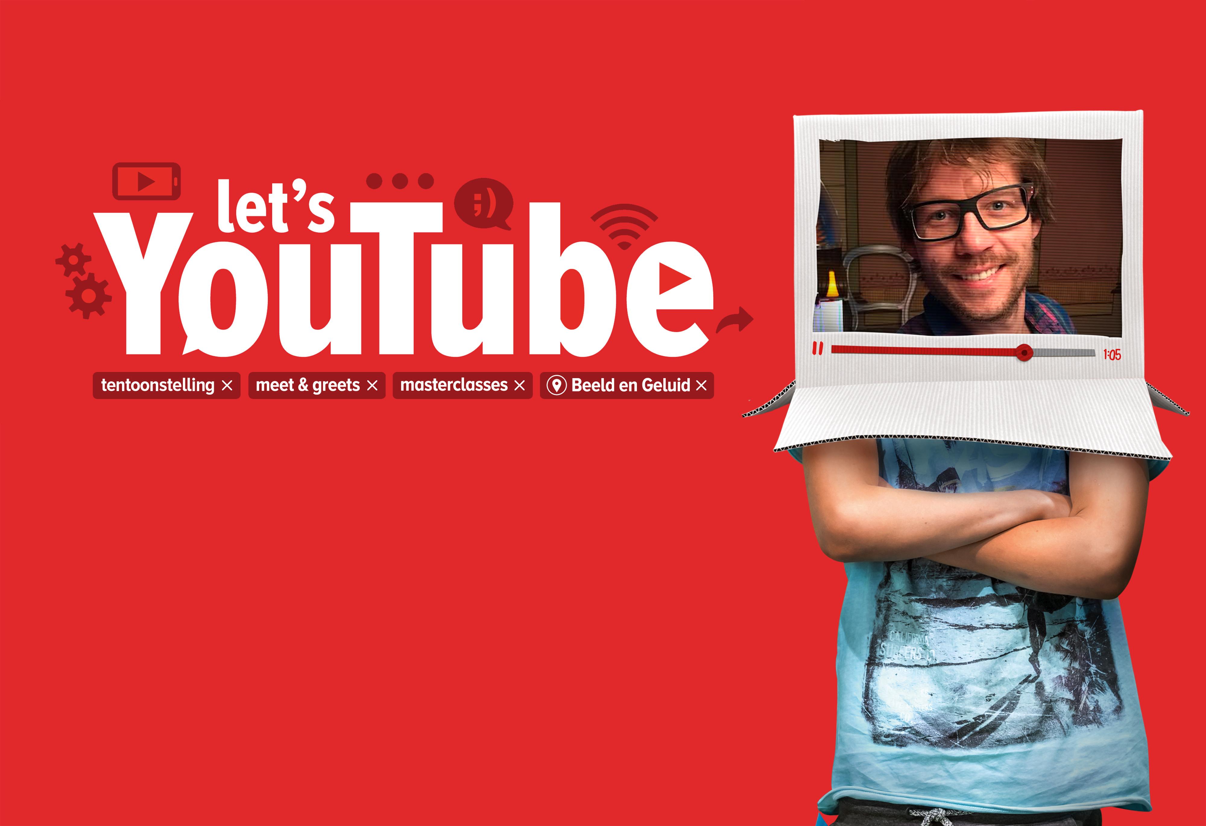 Giel is in december het gezicht van Let's YouTube voor het thema Music