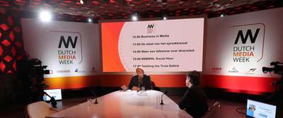 Humberto Tan presenteert iedere dag tussen 12.00-14.00 uur de talkshow Business in Media