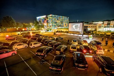 Dutch Media Week drive-in (Light at Work)