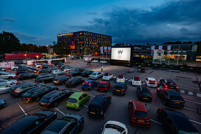 Dutch Media Week drive-in (Paul Ridderhof)