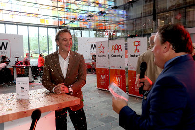 Opening Dutch Media Week (Paul Ridderhof)