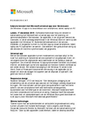29371 persbericht helpline lanceert met microsoft universal app voor serviceware 2015.12.17 528df5 medium