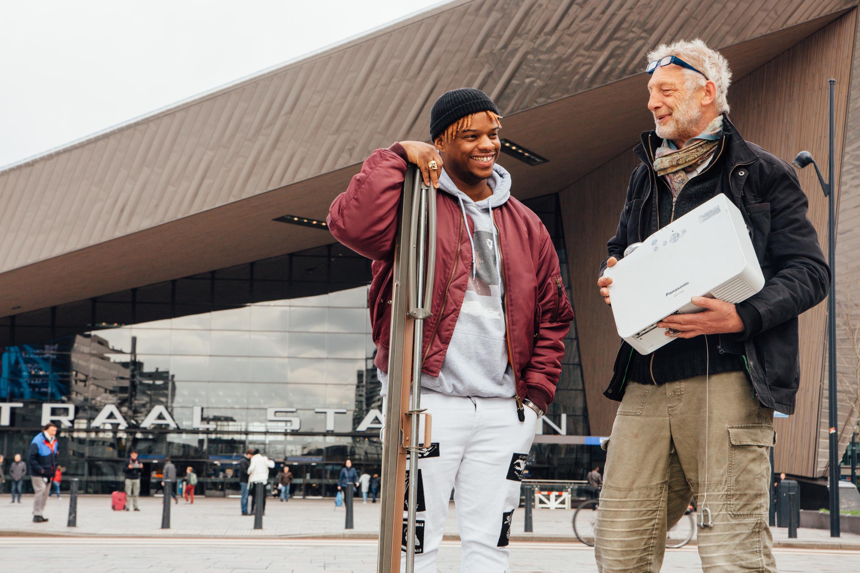 Peerby lanceert huren van je buren dienst peerby go in for Rotterdammers voor elkaar