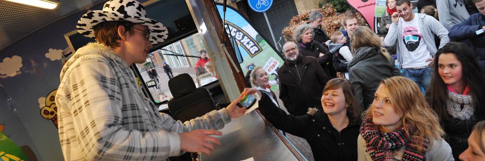 Utrechters belonen stichting timon met gratis ijs ben for Timon begeleid wonen
