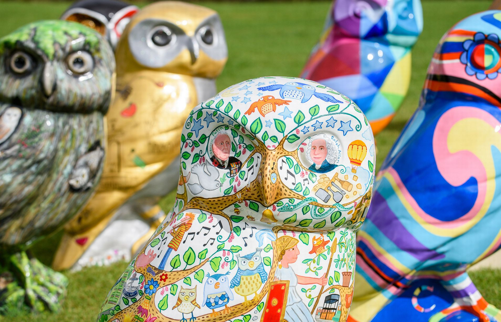 Mowlberry Beak at Minerva's Owls of Bath Launch Credit Paul Gillis