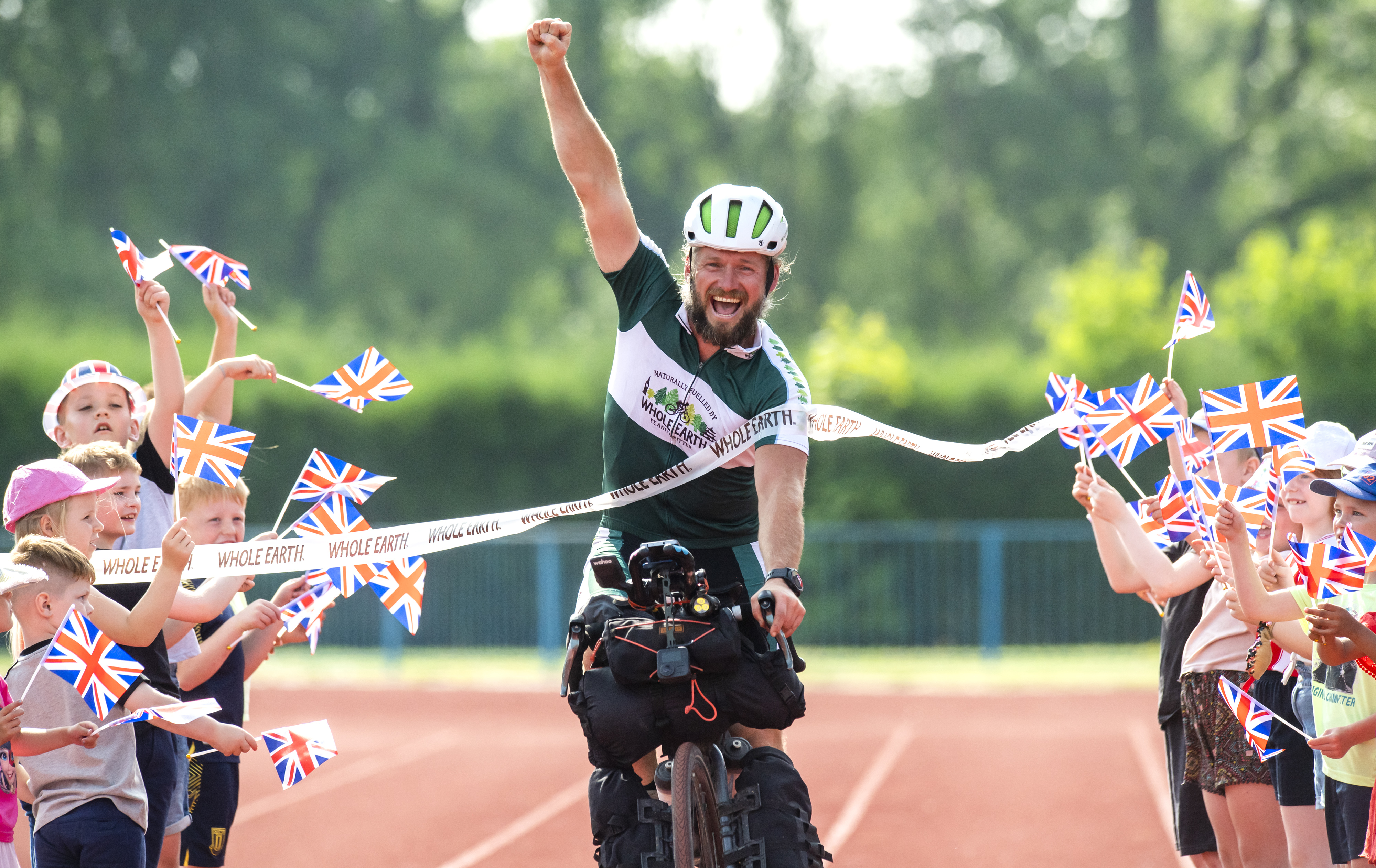 As the Tokyo 2020 Games get underway, Team GB 'superfan', Jamie Ramsay, completes his 80 day, 10,000km 'Whole Earth - Wh.JPG