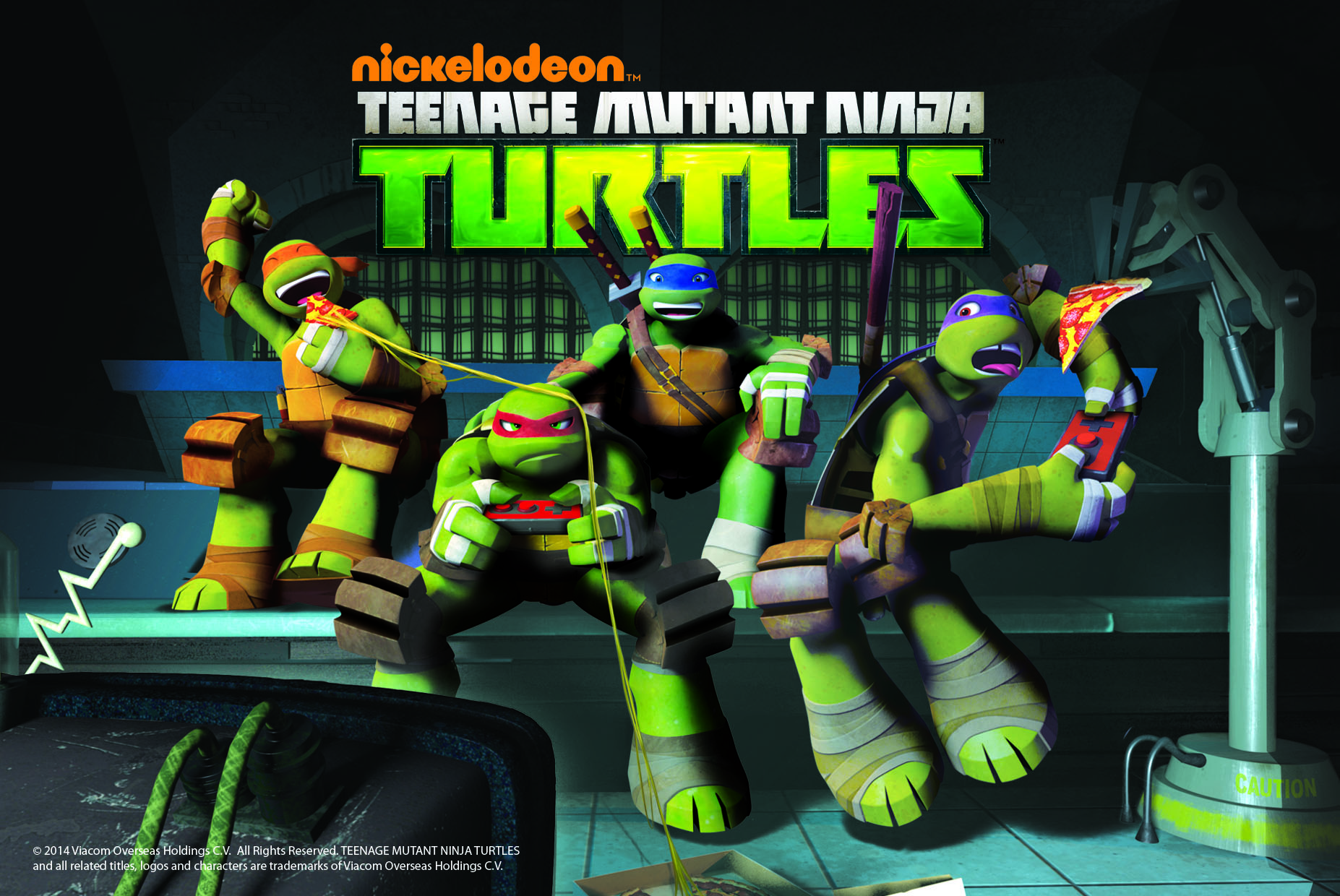 BOOYAKASHA! NICKELODEON'S TEENAGE MUTANT NINJA TURTLES ARE ...