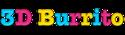 3D Burrito logo