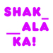 Logo Shakalaka!
