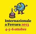 Internazionale a Ferrara 2013 logo