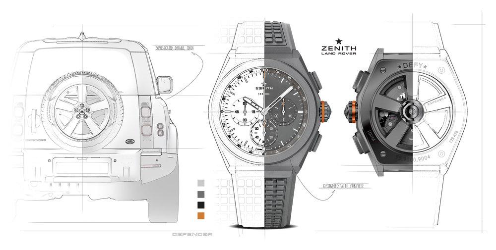 343010 01 land rover en zenith ontwerpen defy 21 edition horloge geinspireerd op nieuwe defender d2090a large 1579255424