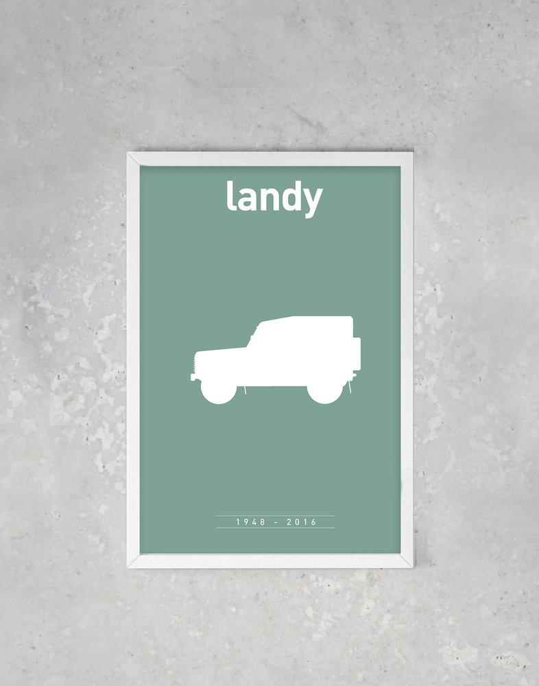 Legendarische Land Rover Defender Trapt Serie Iconicars Af