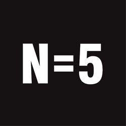 N=5 logo