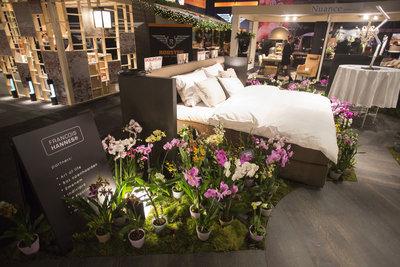 Interior designer franÇois hannes presents orchid twister art of