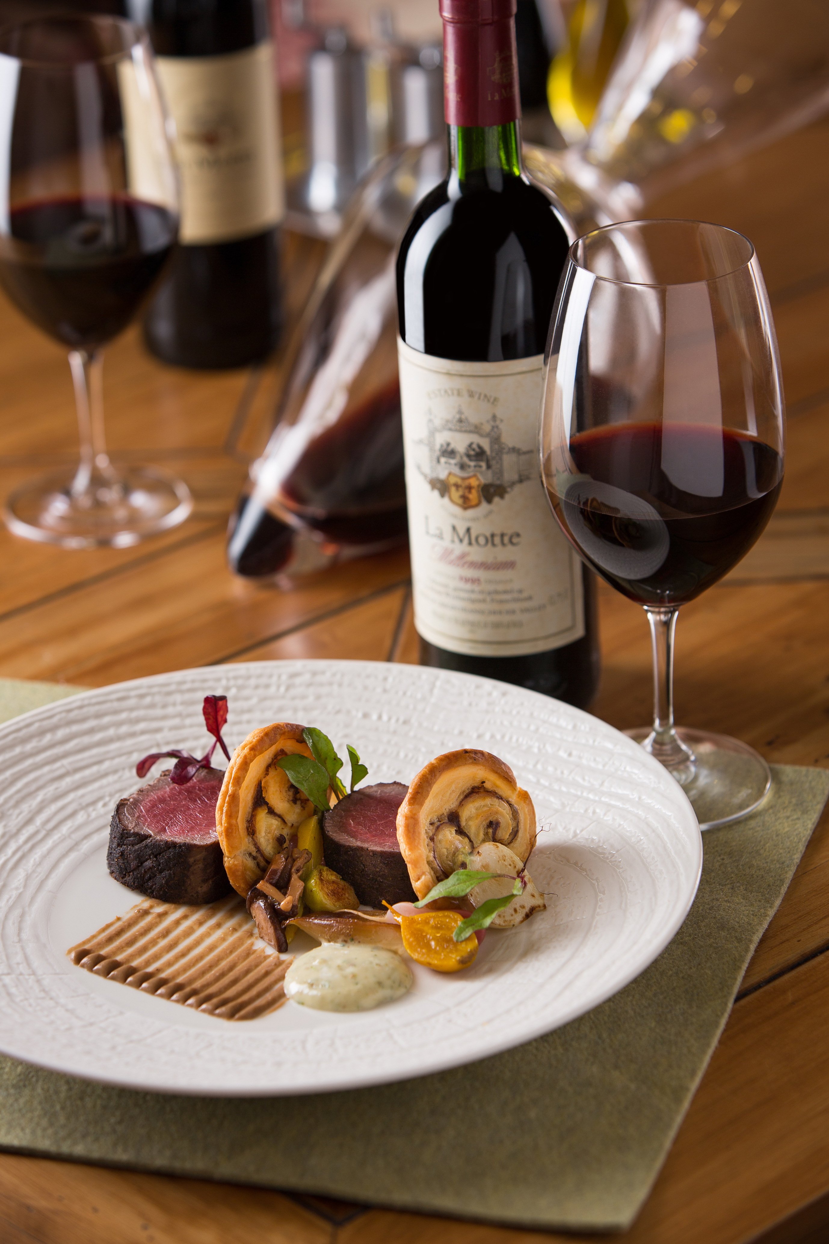 97701327e29 La Motte presents  An evening of vintage wine and venison with ...