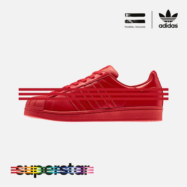 adidas superstar supercolor rood