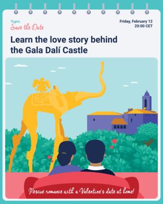 Save the Date Dali Castle
