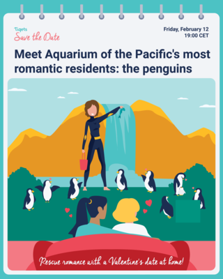 Save the Date Aquarium of the Pacific