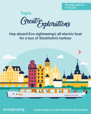 Eco-sightseeing Stokholm