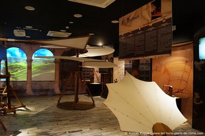 Musée-Leonardo-Da-Vinci-Experience-à-Rome