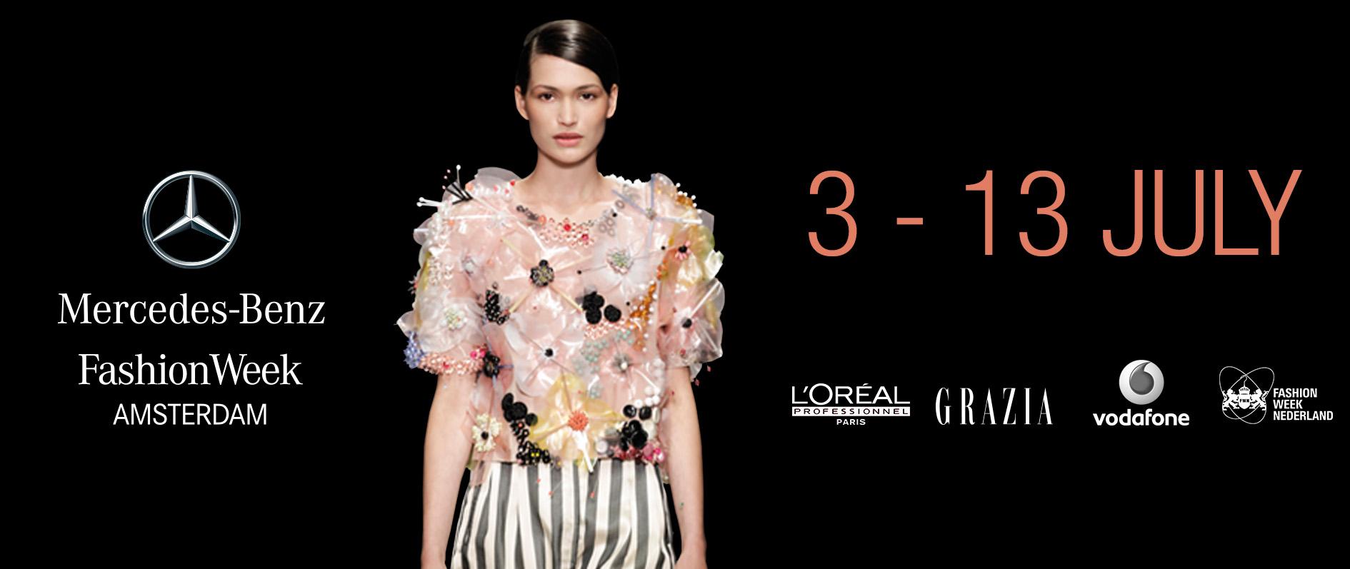 Mercedes Benz Fashionweek Amsterdam Presenteert Programma Zomereditie 2015 Fashionweek