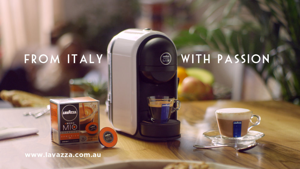 Lavazza takes its passion for coffee to australia for Passion coffee