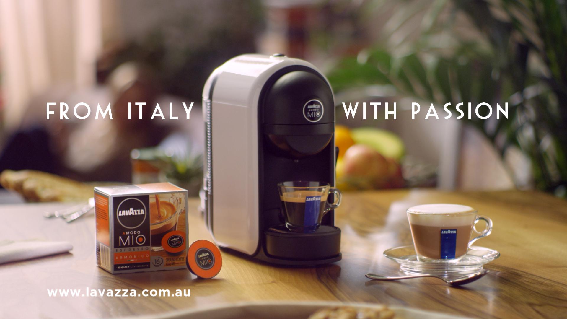 Lavazza porta in australia la sua passione italiana per il - Porta capsule lavazza a modo mio ...