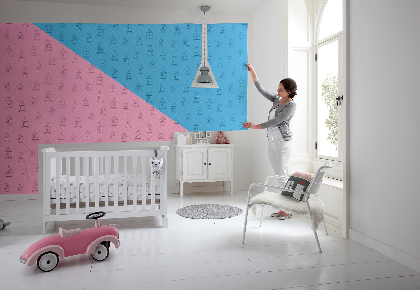 Kinderkamer blauw - Roze kinderkamer ...