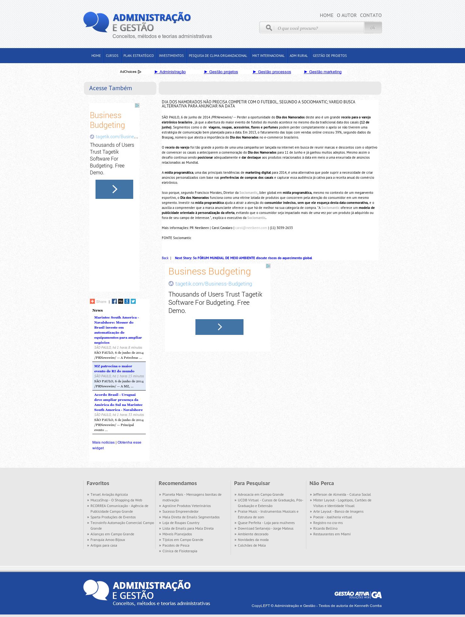11b738b9333a Blog Administração e Gestão - DIA DOS NAMORADOS NÃO PRECISA COMPETIR ...