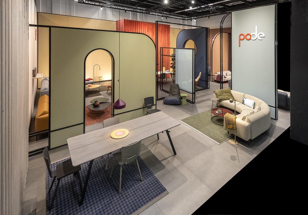 Kleurrijk design voor moderne interieurs - PODE (bericht)
