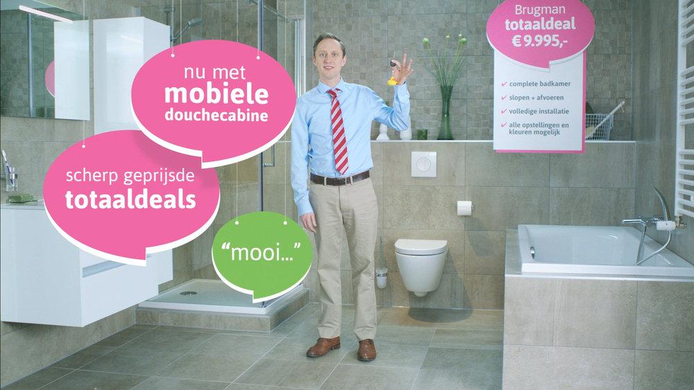 Nieuwe tv commercial voor brugman keukens & badkamers eigen