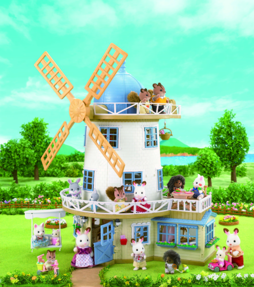 Sylvanian Families Windmill Renovated For New Generation