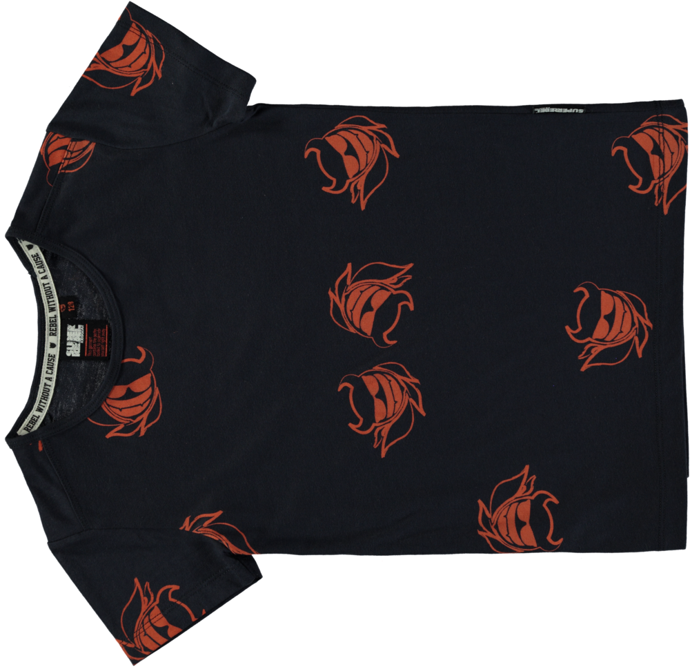 188195 superrebel kidsgear tshirt navy %e2%82%ac34,95 front 11495a large 1448370070