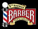 5th ave barber logo