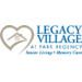 Logo Legacy Village at Park Regency - Moultrie, GA